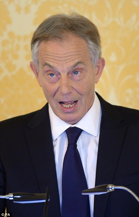 Blair was heavily criticised but still denies he lied