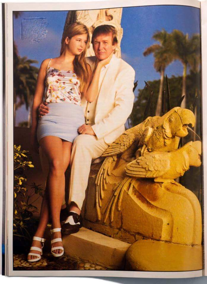 Trump and Ivanka, 1996. Click to enlarge