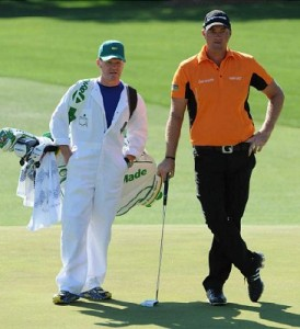 I was a Caddy for the Elite