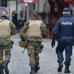 As in France, troops and police now regularly patrol Belgium's streets