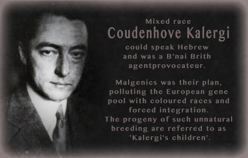 Coudenhove Kalergi. Click to enlarge
