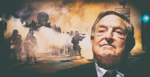 Apart from generous contributions to Hillary Clinton's campaign and Facebook's 'fake news' checker, George Soros also helped bankroll the Ferguson protests. Click to enlarge