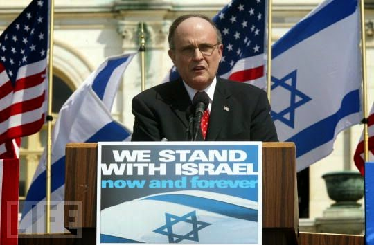 """Giuliani """"stood with Israel"""" and helped murder 3000 Americans on 9/11"""