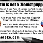 Is Putin a Zionist Puppet?