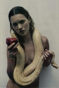 Kate Moss in Lilith pose. Click to enlarge