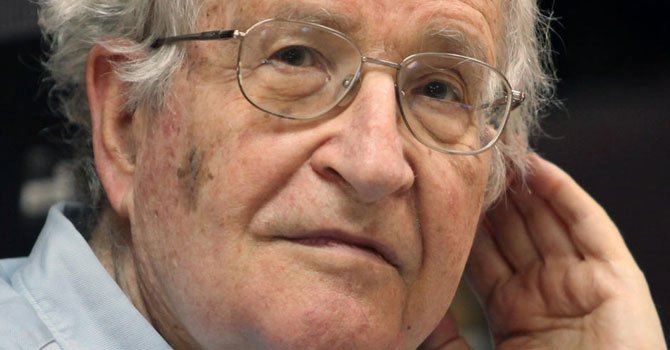 """Chomsky calls Trump voters """"White poor working class"""", is he misinformed or just lying?*"""