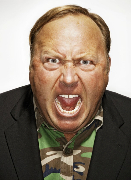 Alex Jones fear monger