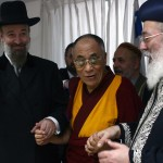 Dalai Lama and Israel's Chief Rabbi, 2006. Click to enlarge