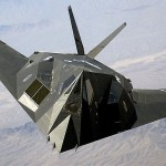 F-117 Nighthawk stealth fighter. Click to enlarge
