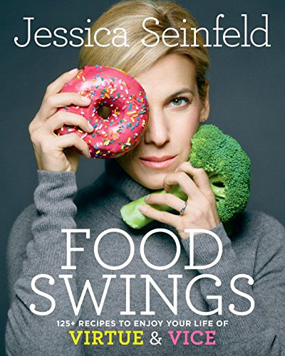 This is the cover of Jessica Seinfeld's cookbook. Really? Does this sign have to be on a cookbook? Yes it does. It has to be everywhere.