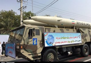The Zolfaqar missile has a range of 750 kilometres and can carry multiple warheads
