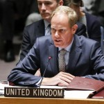 Britain's United Nations representative Matthew Rycroft. Click to enlarge