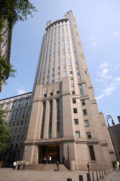 Daniel Patrick Moynihan U.S. Courthouse, Southern District of New York, at 500 Pearl St.