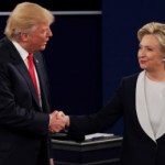 Trump calls Clinton 'the devil' and says she should be 'in jail' in astonishing presidential debate