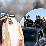Obama King Salman bin Abdulazizal-Saud- of Saudi Arabia and ISIS fighters. Click to enlarge