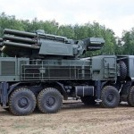 "The ""Pantsir"" anti-aircraft rocket missile and gun systems (ZRPK). Click to enlarge"