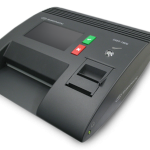 Smartmatic voting machine. Click to enlarge