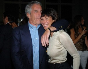 Jeffrey Epstein and alleged child sex procurer Ghislaine Maxwell, daughter of Robert Maxwell. Click to enlarge