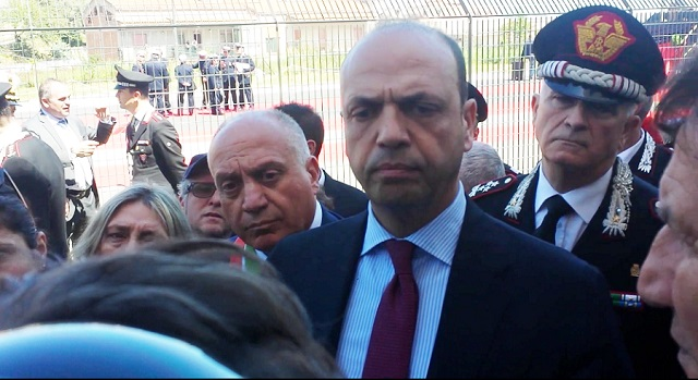 Angelino Alfano. Click to enlarge