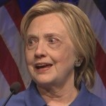 Hillary Re-Emerges Looking Like Death Warmed Up
