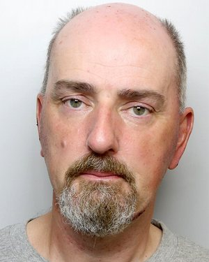 Thomas Mair, recent police photo.