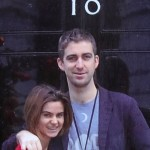 Brendan and Jo Cox pictured outside Number 10 Downing Street. Click to enlarge