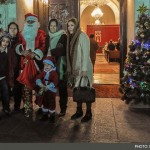 Christmas celebrations at a church in Tehran. Click to enlarge