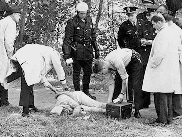 Mary Pinchot Meyer, murder scene. Click to enlarge