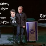 Alex Jones gives Paul Joseph Watson a megaphone to trumpet the 9/11 perps' genocidal propaganda…yet his head explodes at the thought of letting a Muslim respond. Click to enlarge