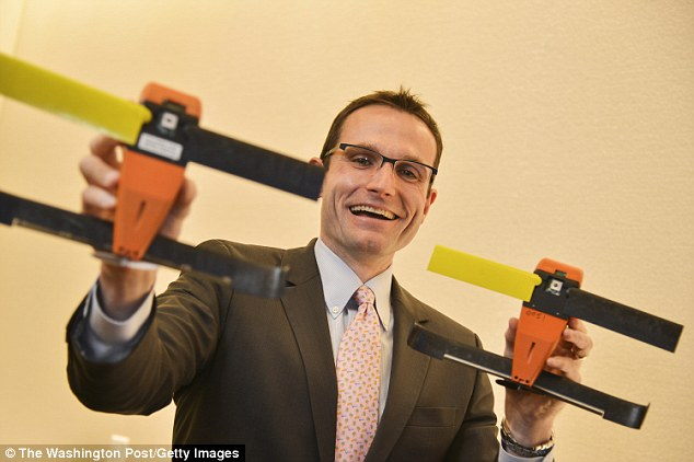 Physicist and director of SCO William Roper, pictured above, said last summer's tests proved swarming capabilities of the micro-drones. Click to enlarge