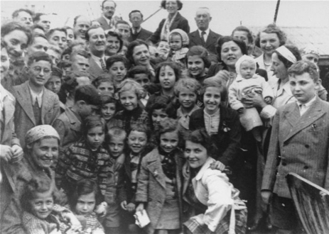 Passengers on SS St. Louis. Jews are also pawns in the illuminati game. Click to enlarge