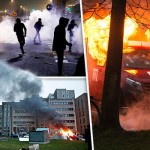 PARIS ERUPTS IN VIOLENCE: Many streets are NO-GO ZONES as five suburbs in flames