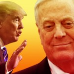 Trump's Ties to Koch's Tea Party