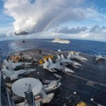 US Navy carrier group begins South China Sea patrols