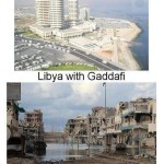 Libya: before and after the ousting of Gaddafi. Click to enlarge