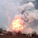 Balakleya munitions depot disaster Ukraine SITREP