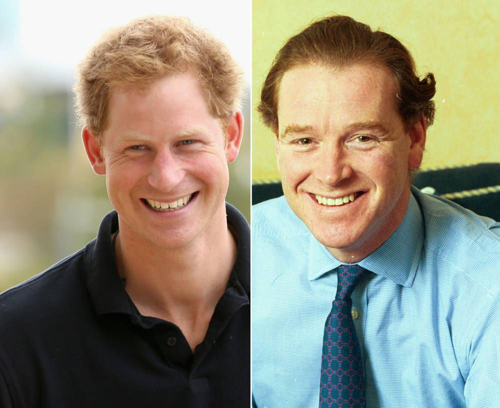 Prince Harry and James Hewitt. Click to enlarge