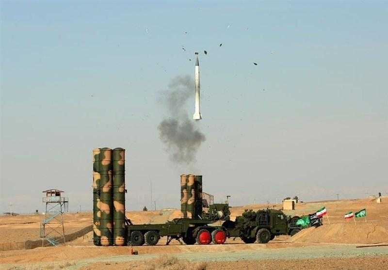 Iran test fires S-300. Click to enlarge