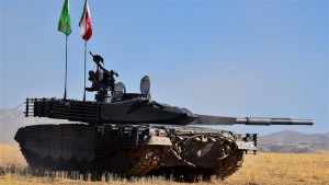 Irania developed, probably using Russian T-90 as a template, Karrar tank. Click to enlarge
