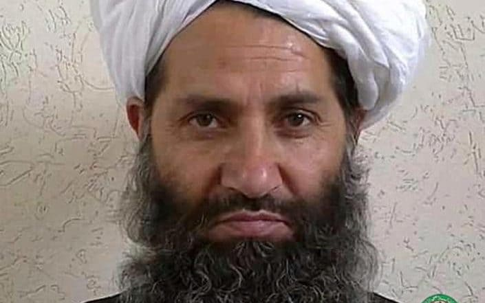 Mullah Haibatullah Akhundzada, the current Taliban leader. Click to enlarge