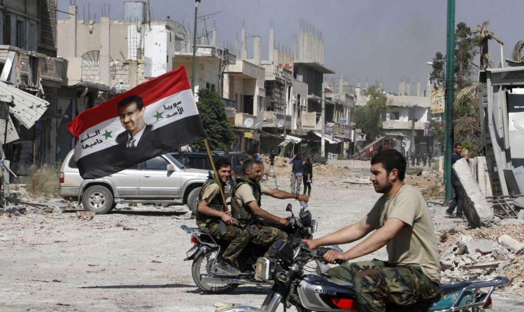 Syria recaptured