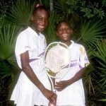 Venus and Serena Williams when yonger. Click for video