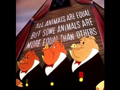 a mockery of communism in animal farm by george orwell We all agree that his book, animal farm, describes the bureaucratization of the   so, saying that orwell was socialist and not a communist, well it can be a little   i think it was a parody of how the elites of a particular movement, can twist the .