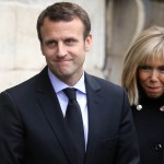 Macron married his highschool teacher, the victim of a facelift mishap, 24 years his senior. There are rumors he is a homosexual. Click to enlarge