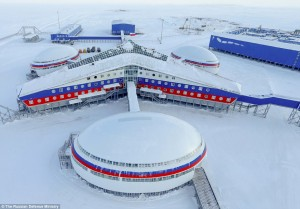 Russia's new Arctic base. Click to enlarge