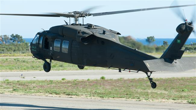 Saudi Black Hawk. Click to enlarge