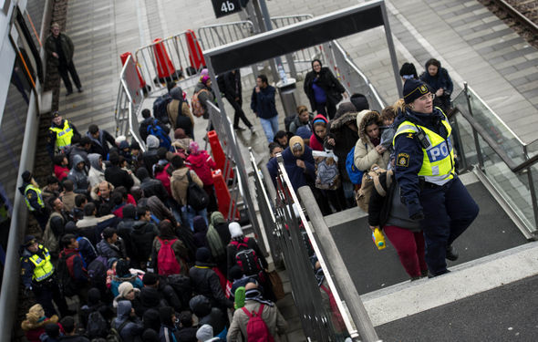 Sweden opened its borders to migrants at first