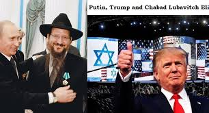 Trump Putin and Chabad