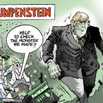The Psycho Revealed: Trumpenstein Removes His Mask