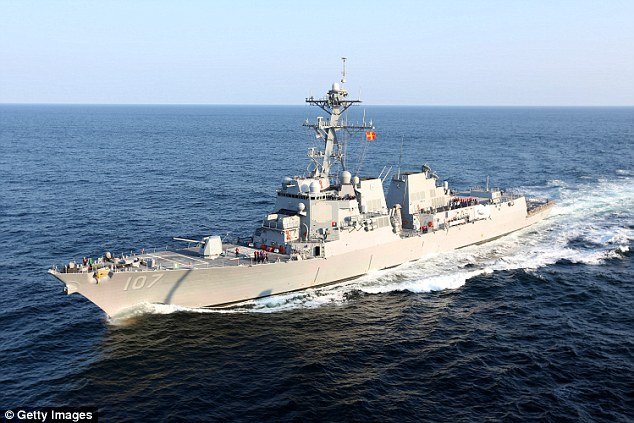 USS Mahan in 2012. Click to enlarge
